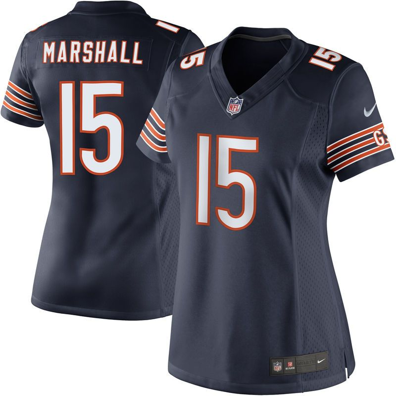 Brandon Marshall Chicago Bears Nike Women s Limited Jersey – Navy Blue 88de7b1fb