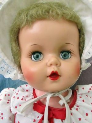 Image result for vintage vinyl baby doll