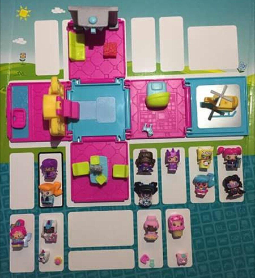 My mini Mixie Q series 3 Villa Party Collection contents of bundle ...