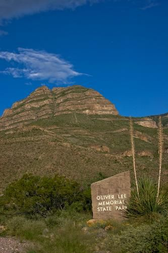 Oliver Lee Memorial State Park Near Alamogordo Nm Used To Go Hiking Here All The Time