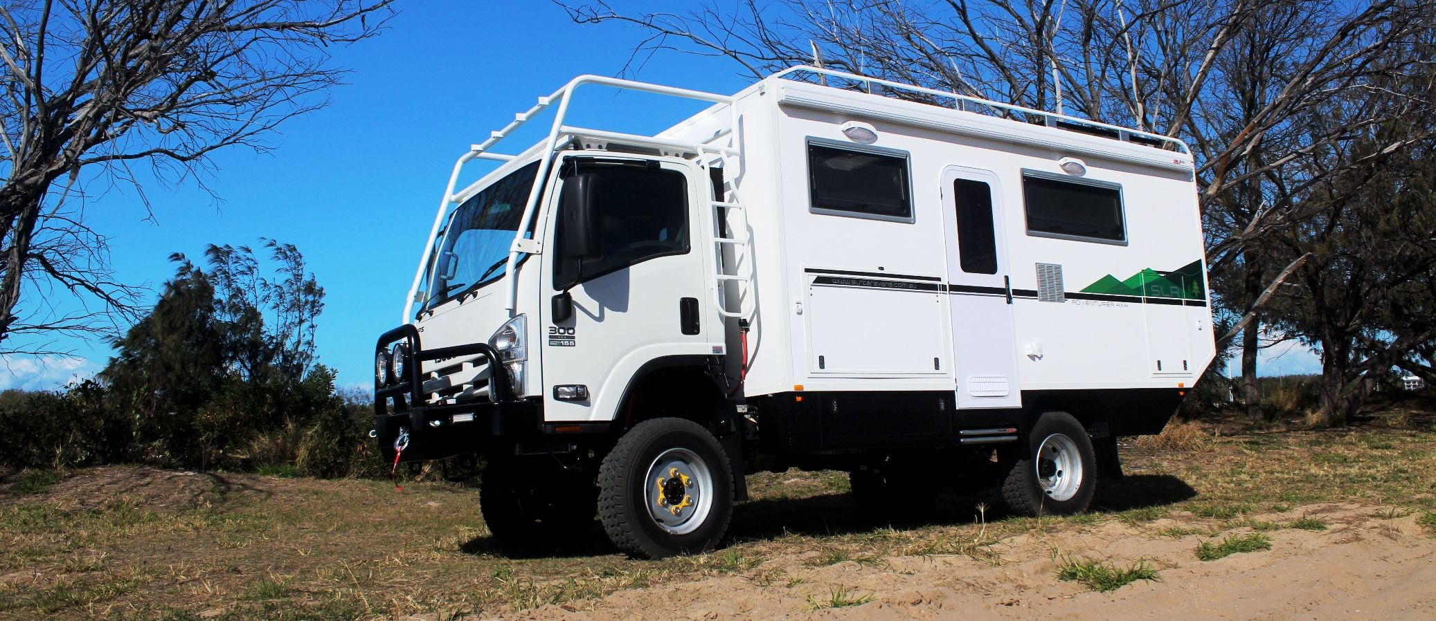 Slr Adventurer 4x4 Expedition Vehicle 4x4 Motorhome Isuzu Nps300 4wd Campers Pinterest