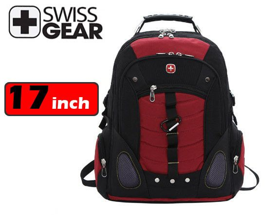 Swissgear laptop backpack 17 inch computer bag for big laptop multifunctional schoolbag $42.00