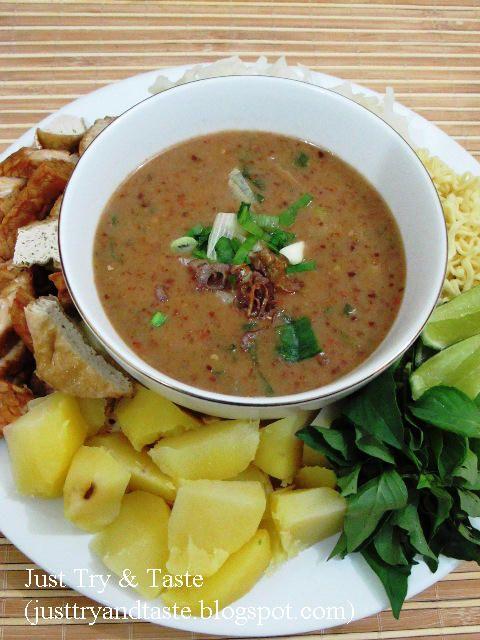 Resep Gado Gado Siram Ala My Mom Resep Makanan Asia Resep Masakan Resep Masakan Asia