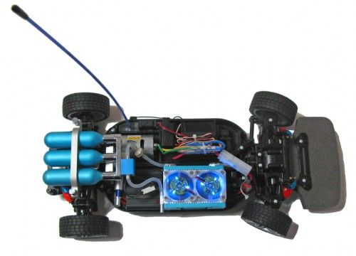 This Hydrogen Fuel Cell Rc Car Upgrade Kit Is One Of The Coolest