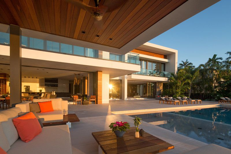 Casa Clara Located In Miami And Designed By Choeff Levy Fischman Architecture Design