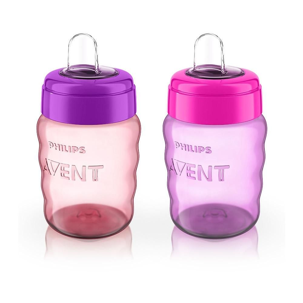 Philips Avent 2 Pack 9 Oz My Easy Sippy Cup Kit De Mamadeira Mamadeira Enxoval De Bebe