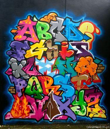 Vizion bombing until death reportages street art et graffiti fatcap lettrage - Lettre graffiti alphabet ...