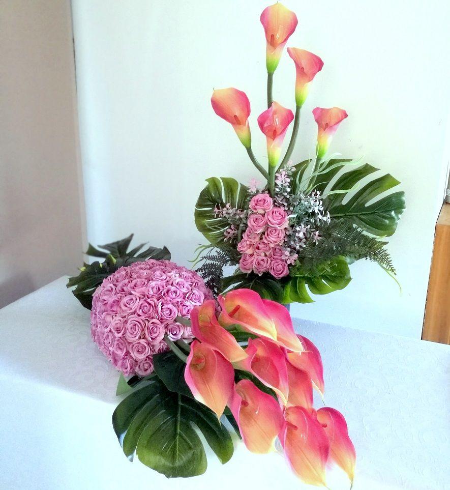 Zestaw Nagrobny W Cienu Magnolii Nr 246 Swiateczne Atelier Glass Vase Decor Vase