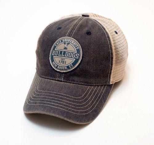 ea835d2b85a Yale University Bulldogs Legacy Old Favorite Trucker Hat