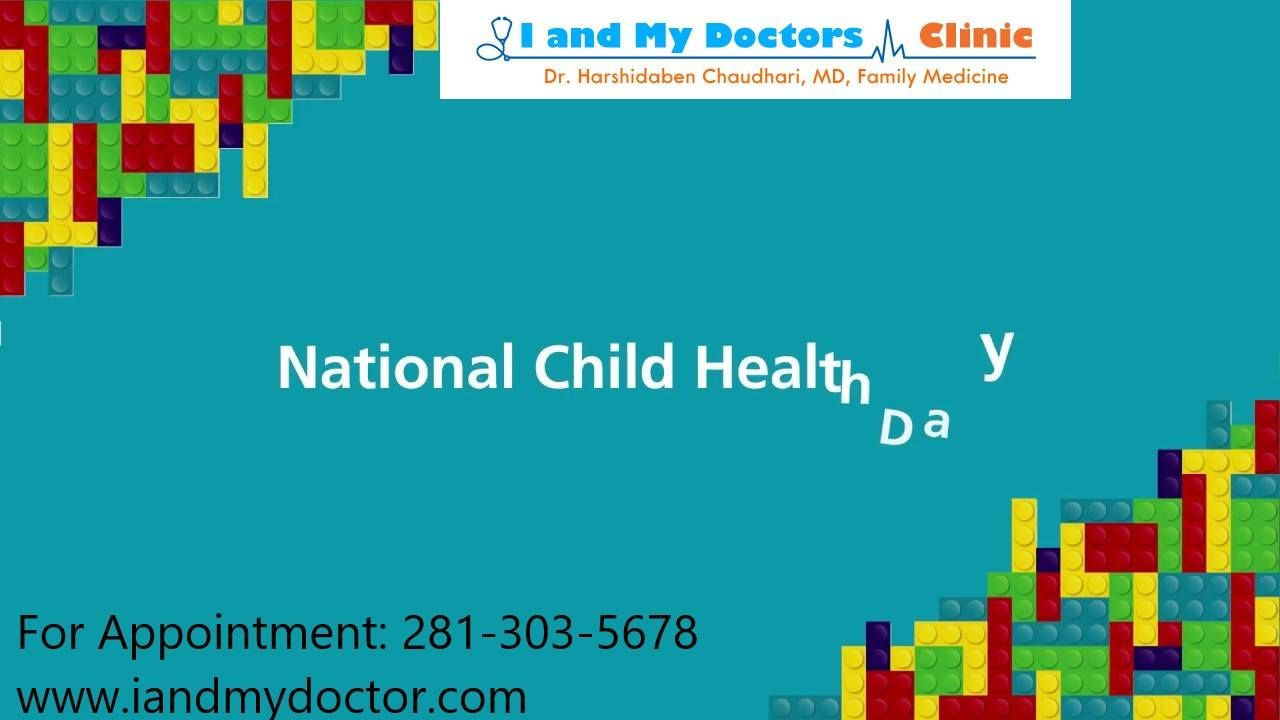 National Child Health Day 2018 Healthy is not a goal, it's