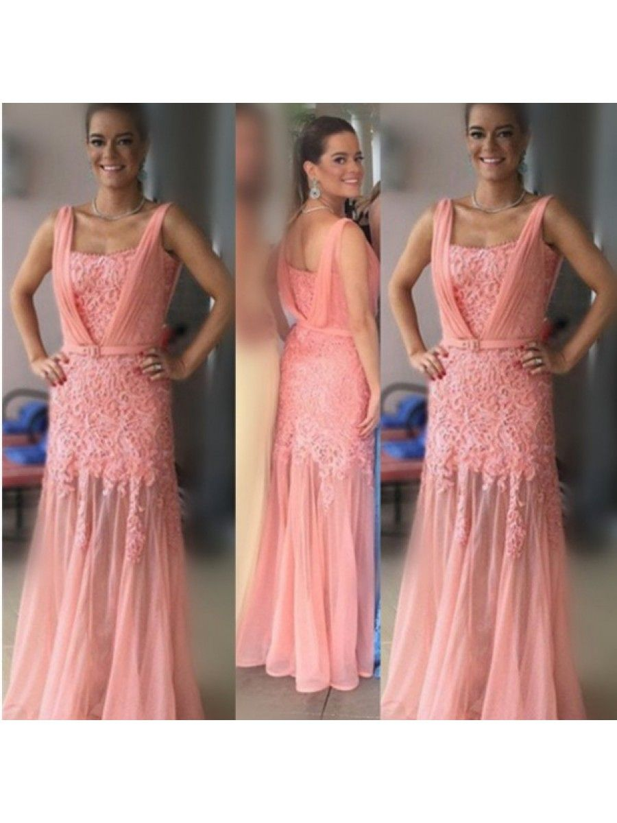 Lace long prom formal evening party dresses prom dresses