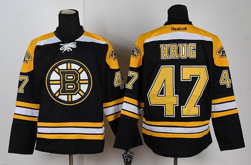 the latest bb165 545b4 Boston Bruins #47 Torey Krug Black NHL Jerseys | NHL Jerseys ...