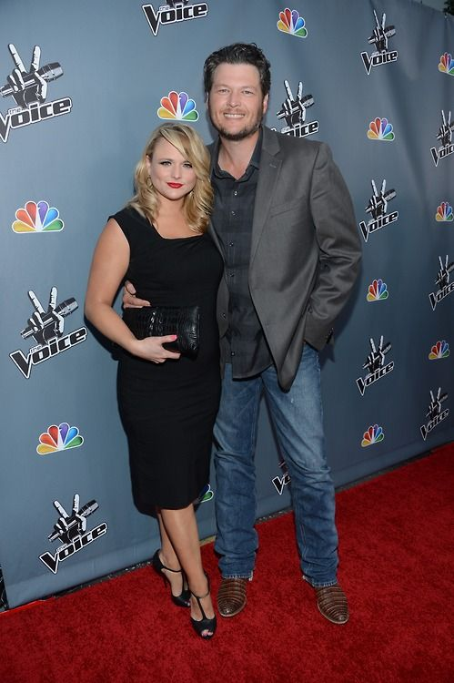 """Congratulations to Blake Shelton and Miranda Lambert on their Academy of Country Music win last night for """"Over You""""! #TeamBlake"""