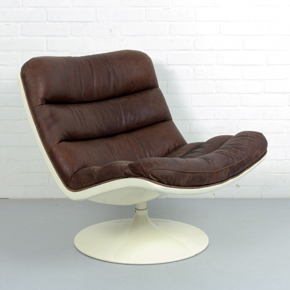 Liegestuhl Interio F976 Lounge Chair By Geoffrey Harcourt For Artifort In