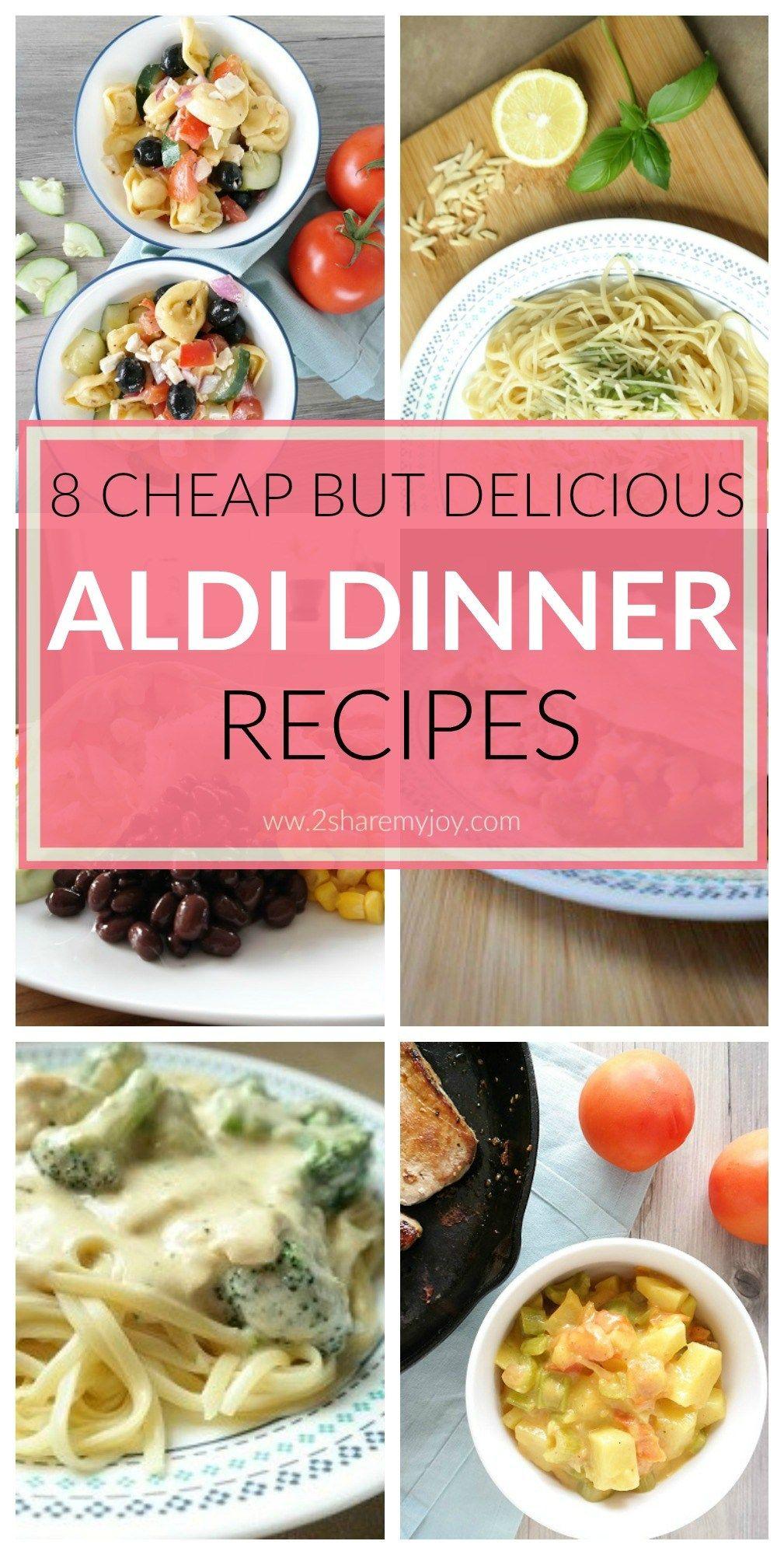 20 Aldi Meals Cheap Dinner Recipes Under 2 Per Serving Aldi Meal Plan Aldi Recipes Cheap Dinner Recipes