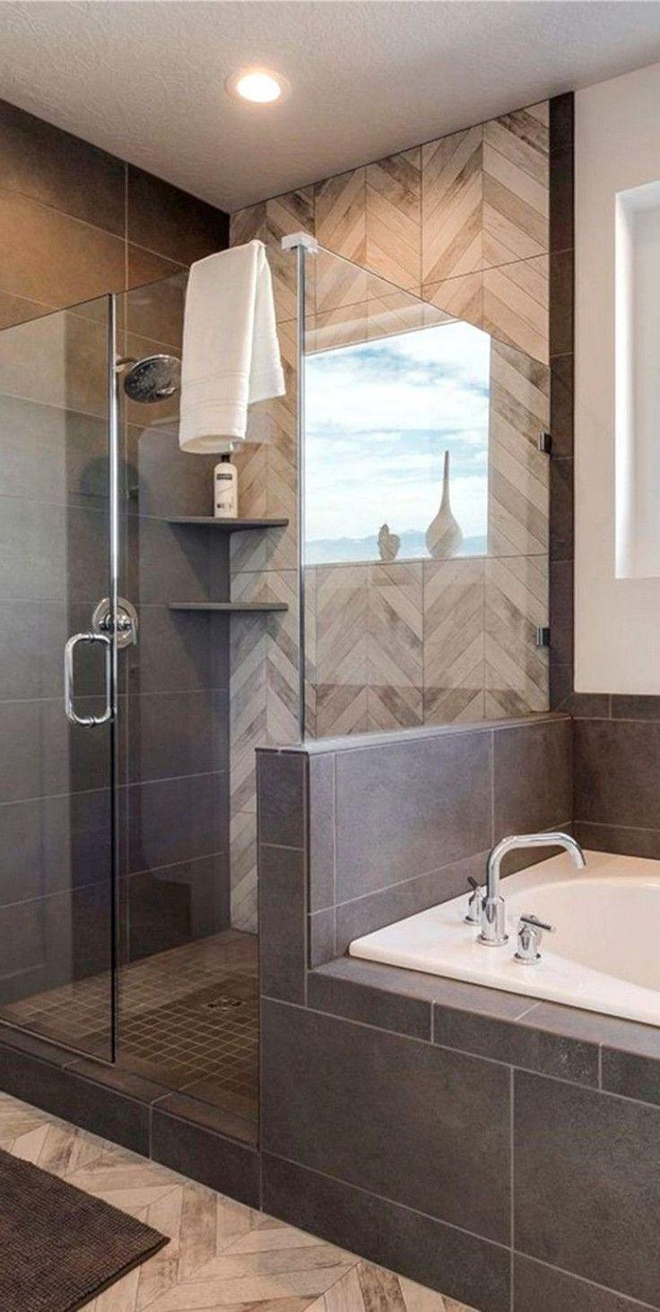38 Beliebtesten Und Erstaunlichsten Badezimmer Design Ideen Die Sie Ausprobieren Mussen Idee Salle De Bain Salle De Bain Minimaliste Salle De Bain Design
