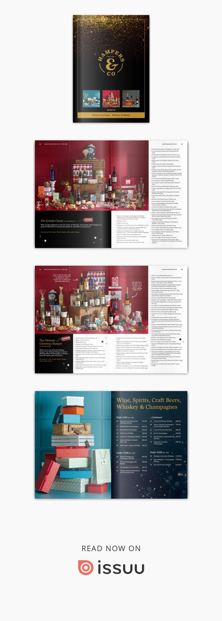 Hampers & Co 2018/2019 Brochure Luxury hampers