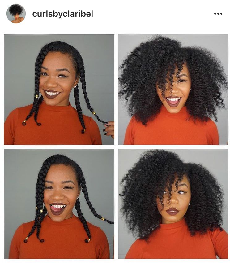 Twist Out On Natural Hair Natural Hair Twists Curly Hair Styles Twist Hairstyles