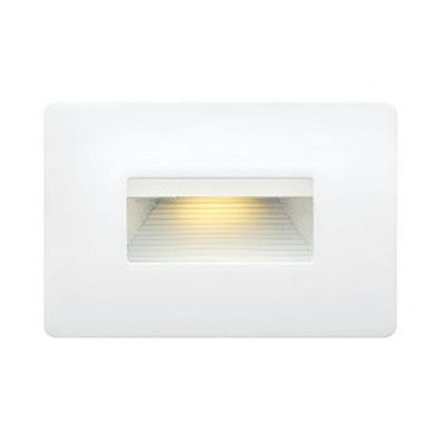 Hinkley Lighting Luna 1 Light Led Step Light Finish Satin White Step Lighting Led Step Lights Led Deck Lighting