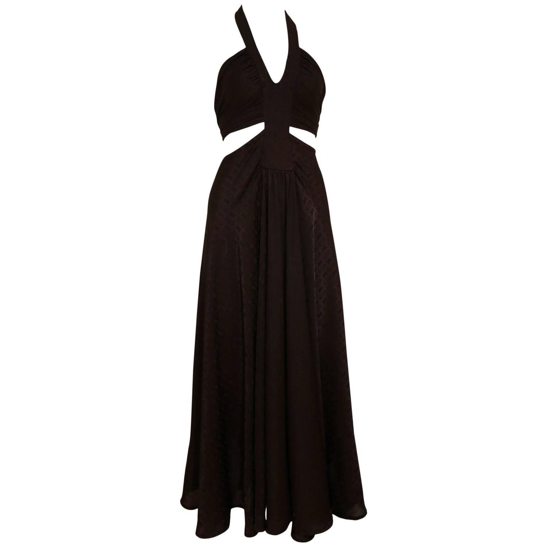 AnnaCat black halter-neck evening dress , c. 1960s   Clothing ...