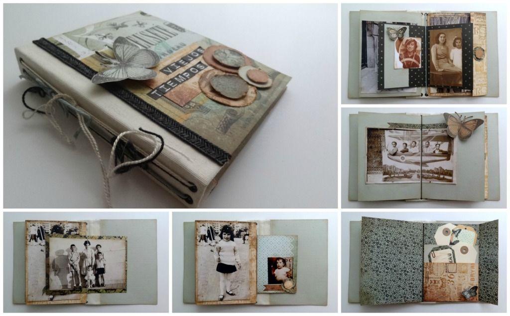 Consejos para hacer un lbum cosido a mano hilda pinterest lbum buscar con google y consejos - Manualidades album de fotos casero ...