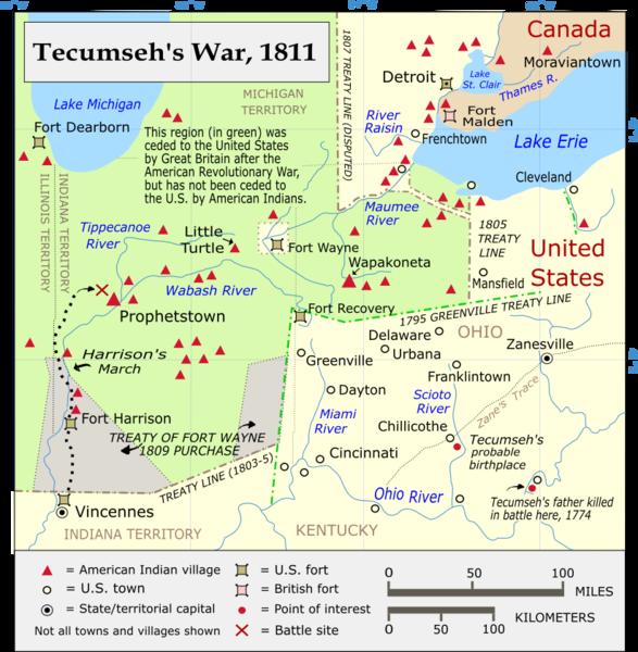 Tecumseh S War American Indian History Native American Heritage Ohio History