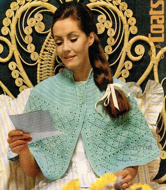 Pdf Crochet Bed Jacket Pattern Size 34 38 Bust Qk Womens