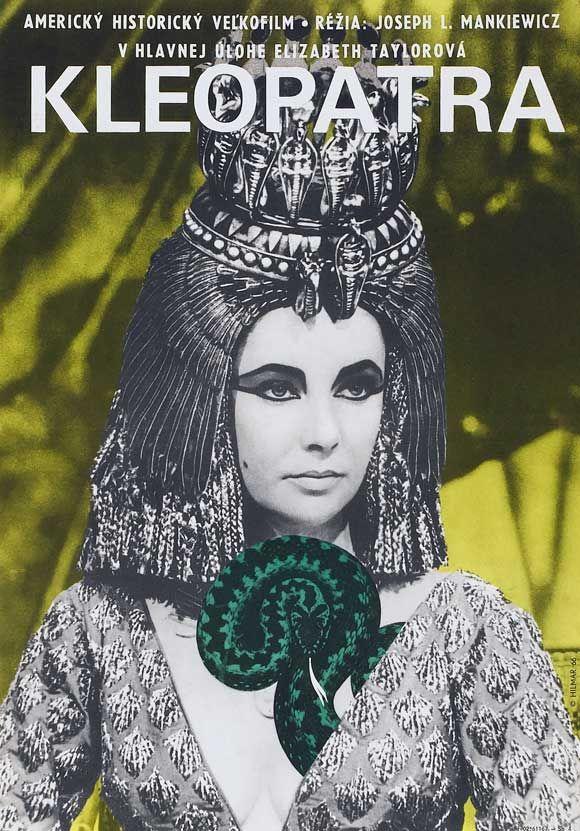 Elizabeth Taylor Cleopatra Hungarian Movie Poster Mit Bildern