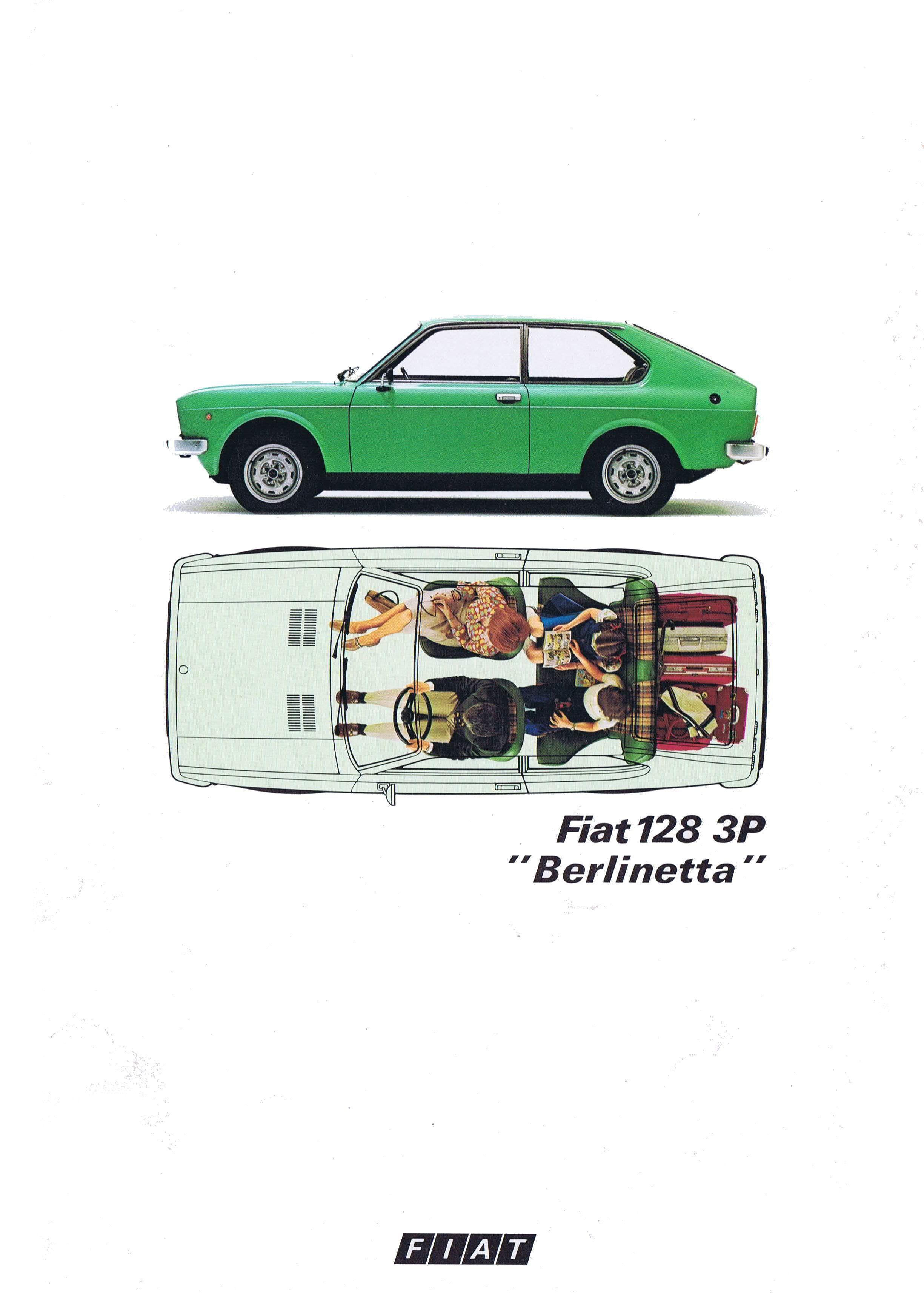 Fiat 128 01 Jpg 2449 3424 Fiat 128 Fiat Car Brochure