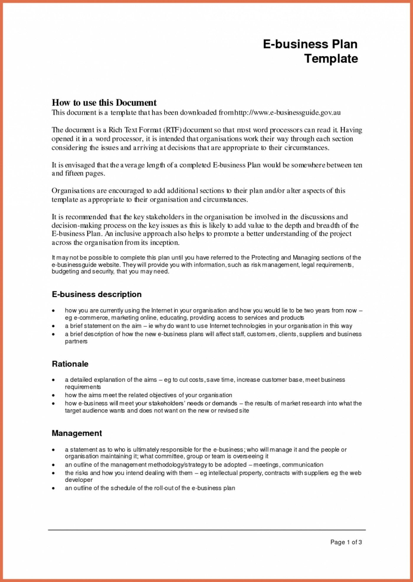 Simple Business Case Template Business Plan Template Business Plan Template Word Simple Business Plan Template