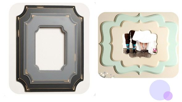 Beautiful whimsical picture frames from Poppy Tree Frames!!! | Poppy ...