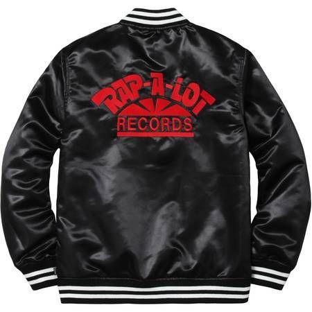 fa42d2466a990 Supreme Rap-A-Lot Record Satin Club Jacket