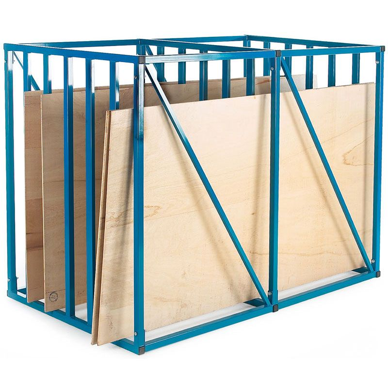 Vertical Sheet Rack With 6 Compartments Max 2.5m X 1.5m Sheets