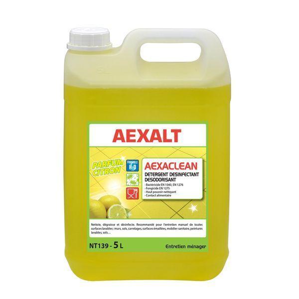 Detergent Contact Alimentaire Aexaclean Desinfectant Aexalt Avec