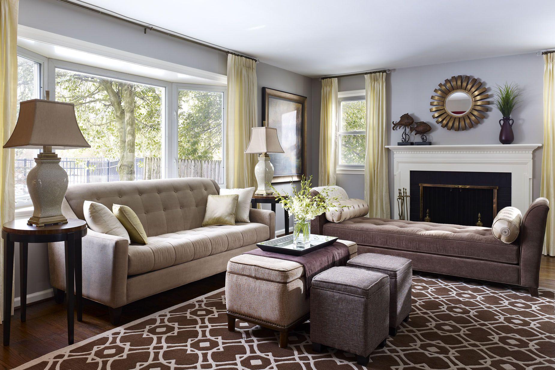 Transitional living room designs – 7 Design Ideas