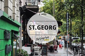 Die Lange Reihe ist das Herz von St. Georg und auch in den Nebenstraßen lässt sich viel entdecken. Wir haben 5 Cafés herausgesucht, die du kennen solltest.