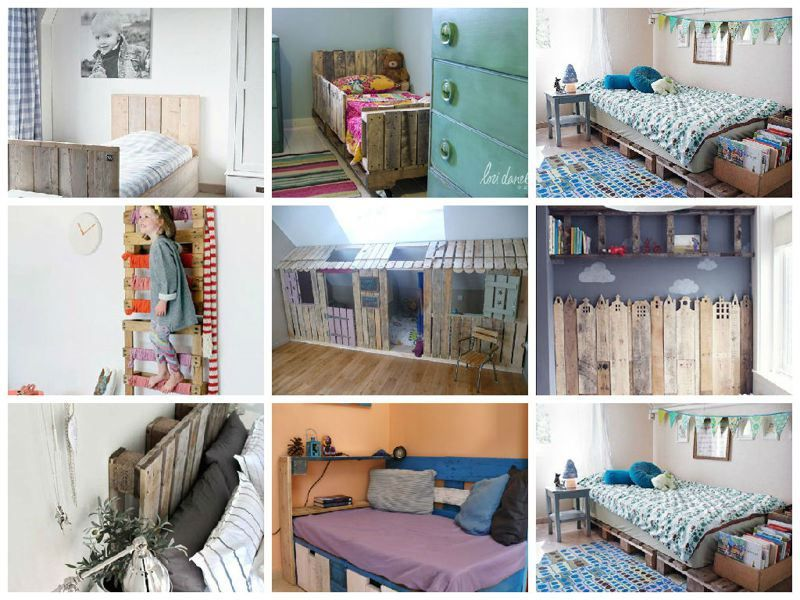 Ideas originales para decorar dormitorios con palets - Palets para decorar ...