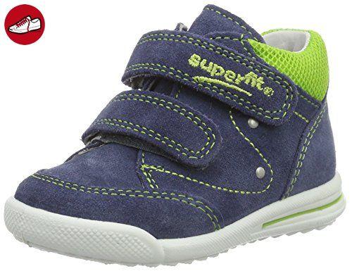 Superfit Baby Jungen Avrile Sneaker, Blau (Denim Kombi 94), 21 EU -