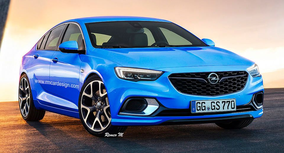 Here S Another Take On The Opel Insignia Grand Sport Opc