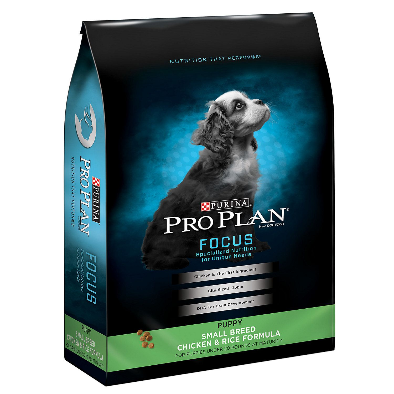 Purina Pro Plan High Protein Small Breed Focus Chicken Rice