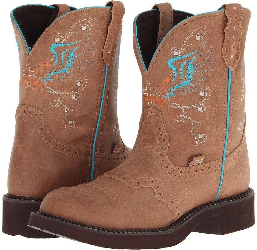 justin boots for women round toeJustin Womens Gypsy 8 Toast Brown ...
