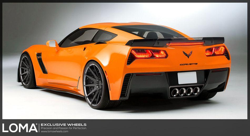 2015 Corvette Z06 Stingray With Loma Black Editon Wheels 2015