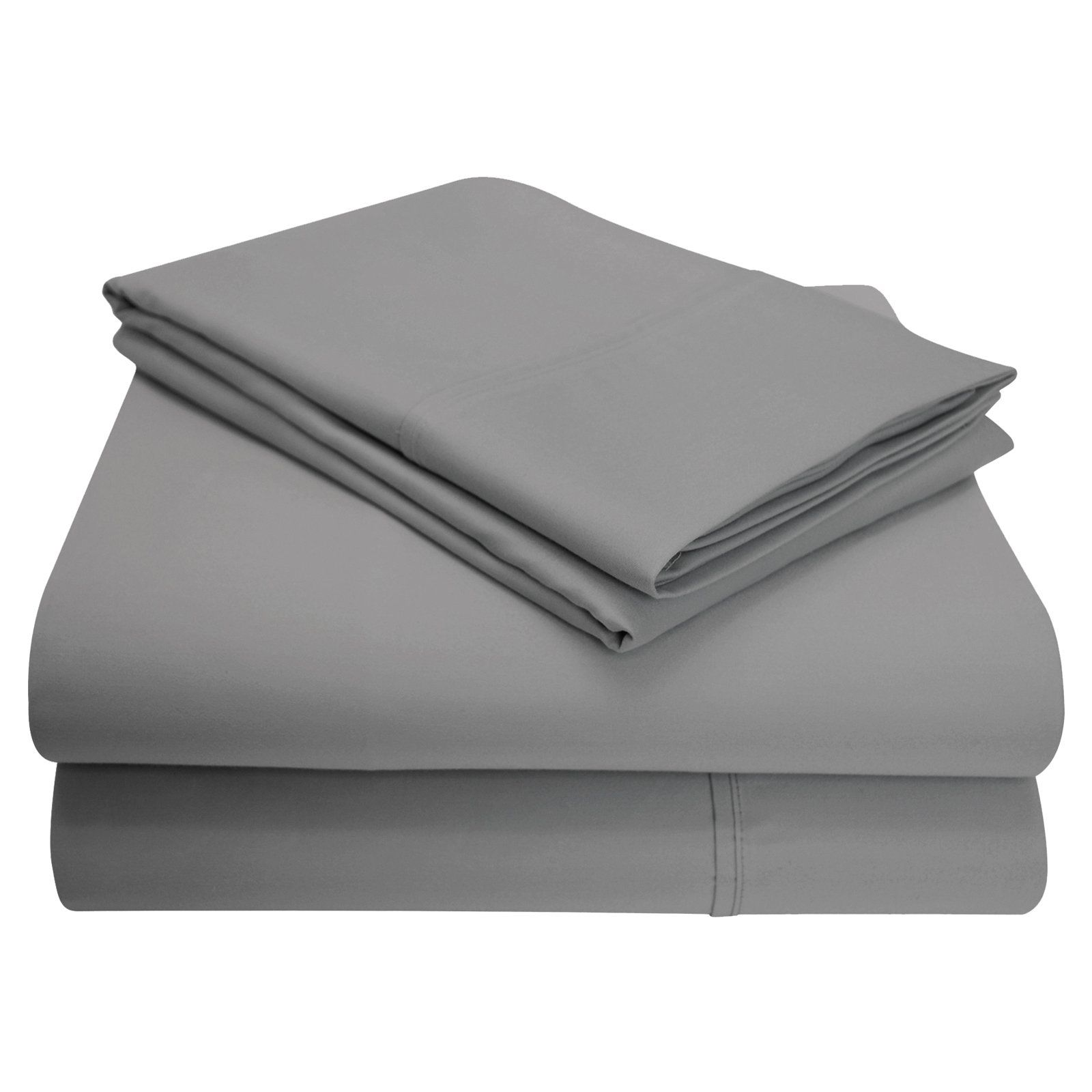 1200 Thread Count CottonBlend Solid Sheet Set by Superior
