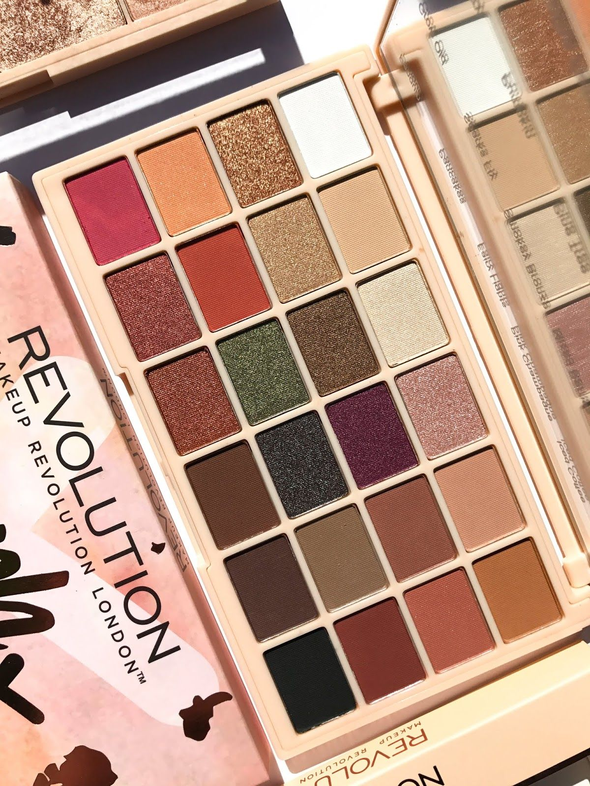 Makeup Revolution Soph X Eyeshadow Palette Makeup