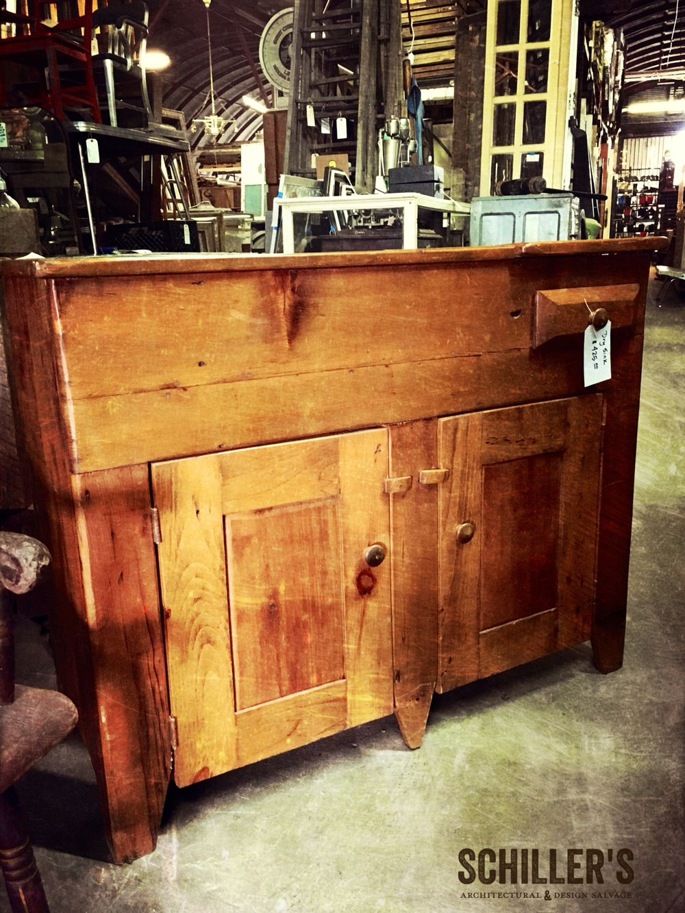 You Can Transform This Dry Sink Vanity Into A Wet Sink Vanity Just Saying Coolfinds Coolstuff Only At Schiller Antique Vanity Dry Sink Repurposed Furniture