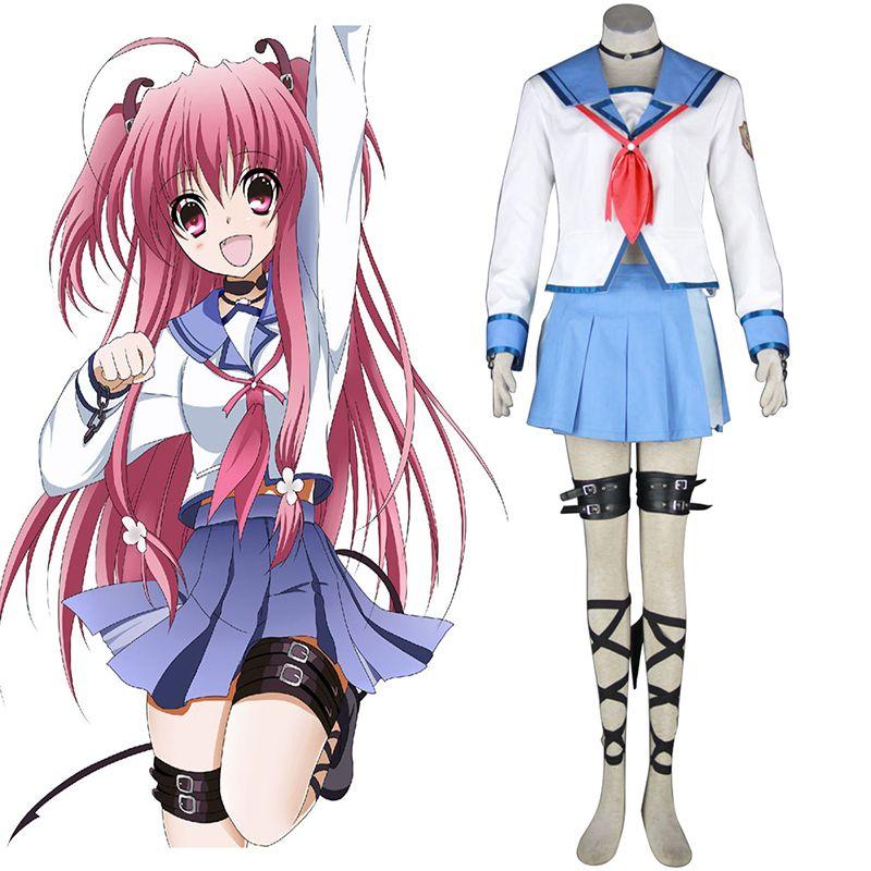 Yui cosplay anime Wig ANGEL BEATS