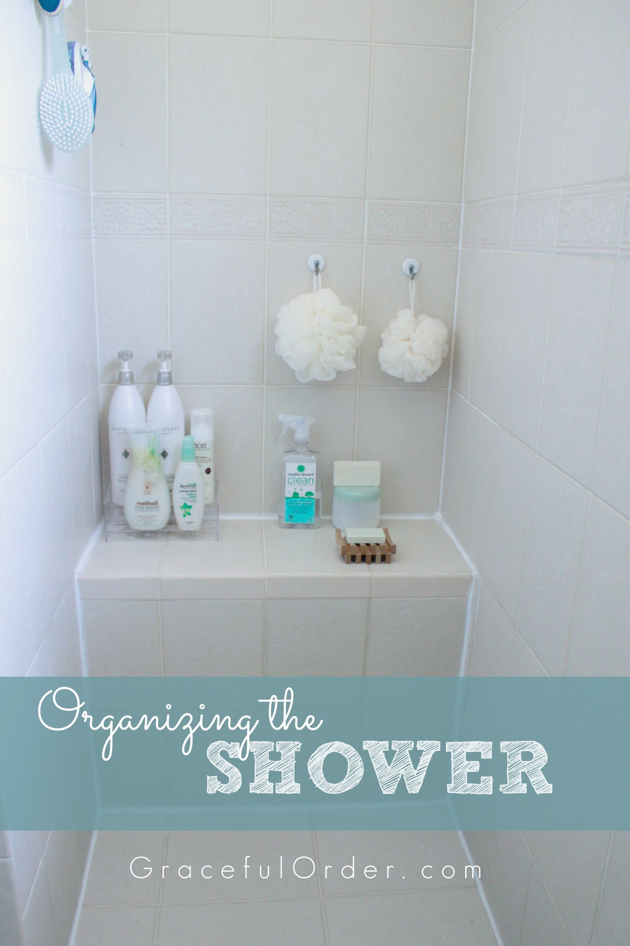 Organizing the Shower Area | Organization | Pinterest | Organizing ...