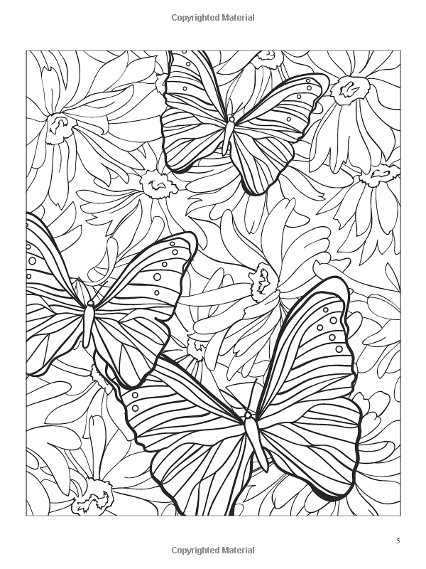 3 D Coloring Book Butterflies Jessica Mazurkiewicz Designs Coloring Books Coloring Books Coloring Pictures