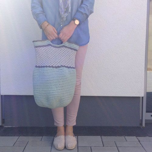 Häkelanleitung Für Tasche Tono Crochet