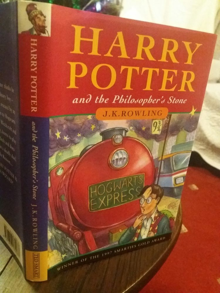 Harry Potter And The Philosopher S Stone Hardback 1st Edition